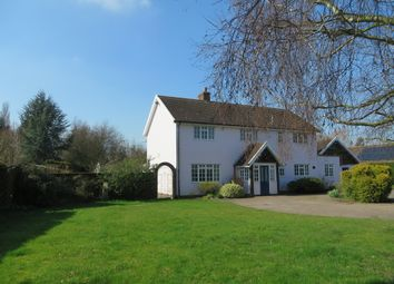 Thumbnail 3 bed detached house for sale in Mill Road, Rumburgh, Halesworth