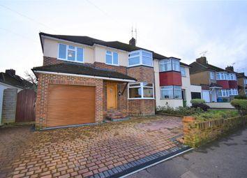 Thumbnail 4 bed semi-detached house for sale in Gillian Avenue, Aldershot