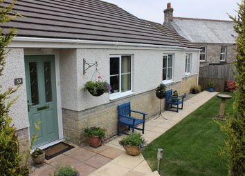 Thumbnail 4 bed bungalow for sale in Hillside Meadows, Foxhole, St. Austell
