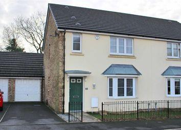 Thumbnail 3 bed semi-detached house for sale in Gelli Rhedyn, Fforestfach, Swansea