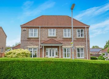 Thumbnail 4 bedroom detached house for sale in John Brown Close, Horncastle, Lincolnshire, John Brown Close