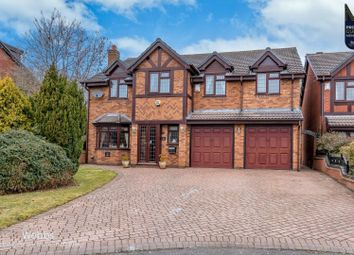 Charles Close, Cheslyn Hay, Cannock WS6. 5 bed detached house for sale