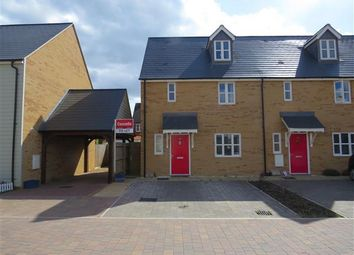 Thumbnail 3 bed terraced house to rent in Collingwood Gardens, Brooklands, Milton Keynes