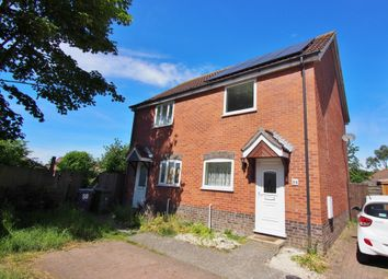 Thumbnail 2 bedroom semi-detached house to rent in Yew Tree Road, Attleborough, Norfolk