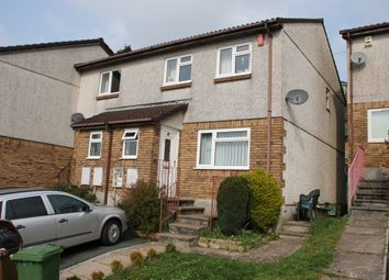 Thumbnail 3 bedroom semi-detached house for sale in Coombe Way, Plymouth
