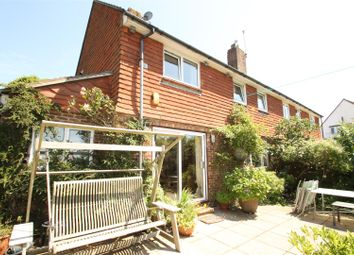 Thumbnail 3 bed semi-detached house for sale in Elsted Crescent, Brighton