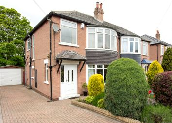 Thumbnail 3 bed semi-detached house for sale in Shadwell Walk, Leeds, West Yorkshire