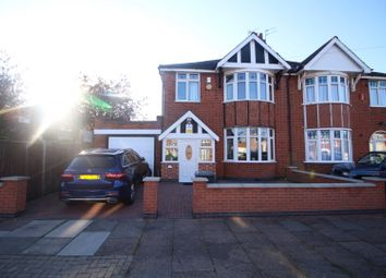 Thumbnail 3 bedroom semi-detached house for sale in Somerville Road, Leicester, Leicestershire