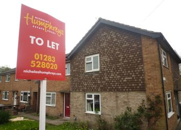 Thumbnail 3 bed property to rent in Field Way, Newhall, Swadlincote, Swadlincote, Derbyshire