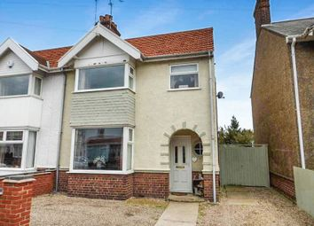 Thumbnail 3 bed semi-detached house for sale in Sandringham Avenue, Great Yarmouth