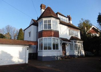 Thumbnail 5 bed detached house to rent in Links Road, Epsom