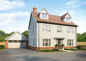 Thumbnail 5 bed detached house for sale in The Junipers At The Mulberries, Witham, Essex