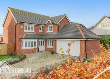 Thumbnail 4 bed property for sale in Hero's Place, Northop Hall, Mold