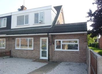 Thumbnail 4 bed semi-detached house to rent in Montrose Square, Mansfield Woodhouse, Nottinghamshire
