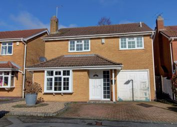 Thumbnail 4 bed detached house to rent in Kingcup Close, Leicester Forest East