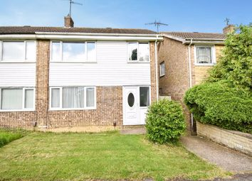 Thumbnail 3 bed semi-detached house for sale in Thor Walk, Corby, Northamptonshire
