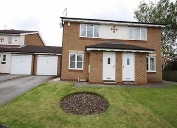 Thumbnail 2 bed semi-detached house to rent in Bramble Hill, Beverley