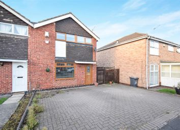 Thumbnail 3 bed semi-detached house for sale in Briar Lea Close, Sinfin, Derby