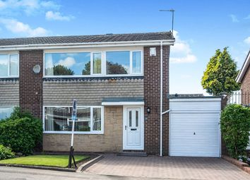 Thumbnail 3 bedroom semi-detached house for sale in Grosvenor Way, Chapel Park, Newcastle Upon Tyne