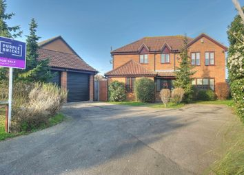 Thumbnail 4 bed detached house for sale in Deepdale, Lowestoft