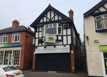 Thumbnail Retail premises for sale in 17 Chester Road, Gresford, Wrexham