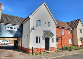 Thumbnail 3 bedroom end terrace house for sale in Field Acre Way, Norwich