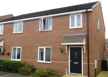 Thumbnail 3 bed semi-detached house for sale in Damson Drive, Evesham
