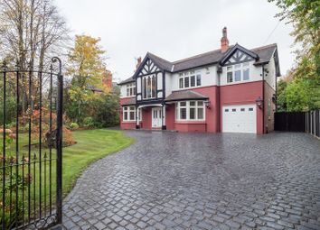 Thumbnail 5 bed detached house for sale in Hawley Lane, Hale Barns, Altrincham