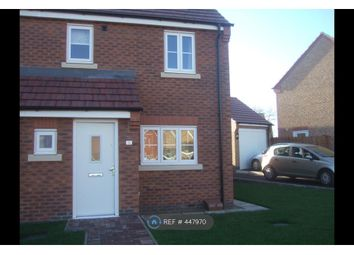 Thumbnail 3 bed semi-detached house to rent in Portmarnock Way, Grantham
