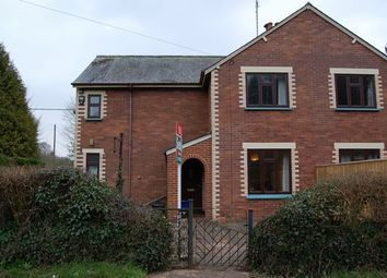 Thumbnail 3 bed semi-detached house to rent in Bickleigh, Tiverton