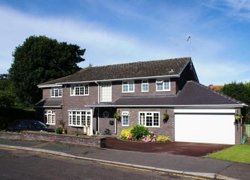 Thumbnail 5 bed detached house to rent in New Lodge Drive, Oxted