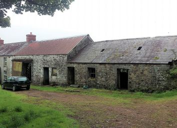 Thumbnail 3 bed farmhouse for sale in Gwynfe, Llangadog