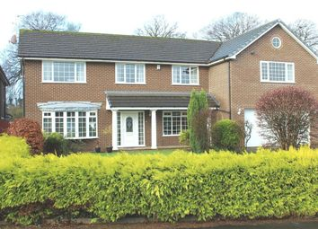 Thumbnail 5 bedroom detached house for sale in Haydock Park Gardens, Newton-Le-Willows, Merseyside