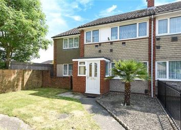 Thumbnail 4 bed end terrace house for sale in Mountsfield Close, Staines-Upon-Thames, Surrey