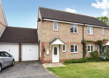 Thumbnail 2 bed semi-detached house for sale in Meadowsweet Close, Dunstan Park, Thatcham