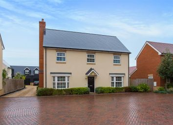 Thumbnail 4 bed detached house for sale in Yew Tree Close, Launton, Bicester