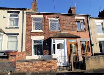 Thumbnail 2 bed terraced house for sale in The Flatts Road, Norton In The Moors, Stoke On Trent