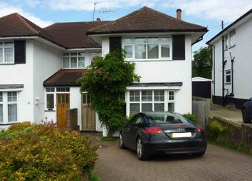 Thumbnail 3 bed semi-detached house to rent in Hillcroft Crescent, Watford