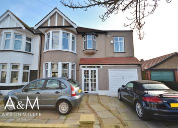 Thumbnail 4 bed semi-detached house for sale in Glenwood Gardens, Ilford