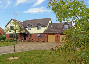 Thumbnail 5 bed detached house for sale in Bacons Green Road, Westhall, Halesworth