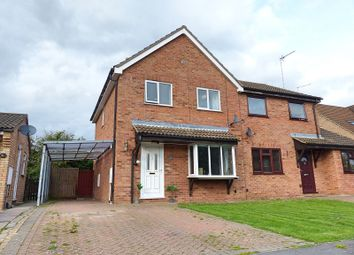 Thumbnail 3 bed semi-detached house for sale in Stanch Hill Road, Sawtry, Huntingdon