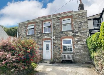 Thumbnail 3 bed semi-detached house for sale in Treknow, Tintagel