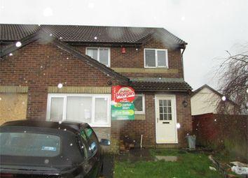 Thumbnail 3 bed semi-detached house for sale in Ffordd Briallu, Llansamlet, Swansea, West Glamorgan