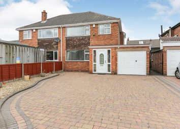 Thumbnail 3 bed semi-detached house for sale in Woodlands Avenue, Water Orton, Birmingham, .