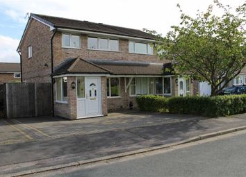 Thumbnail 3 bed semi-detached house for sale in Langport Close, Fulwood, Preston