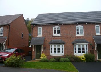 Thumbnail 3 bed end terrace house to rent in Glengarry Way, Greylees, Sleaford