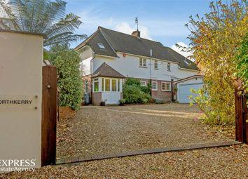 Thumbnail 4 bed detached house for sale in Ridgeway Lane, Lymington, Hampshire