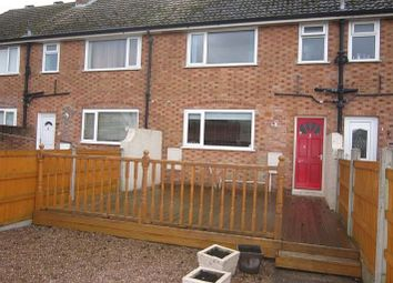 Thumbnail 2 bed terraced house to rent in Willow Crescent, Auckley, Doncaster
