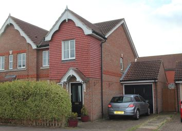 Thumbnail 3 bed semi-detached house for sale in Titus Way, Highwoods, Colchester, Essex
