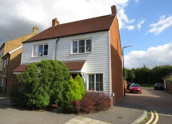 Thumbnail 2 bed semi-detached house for sale in Violet Way, Kingsnorth, Ashford